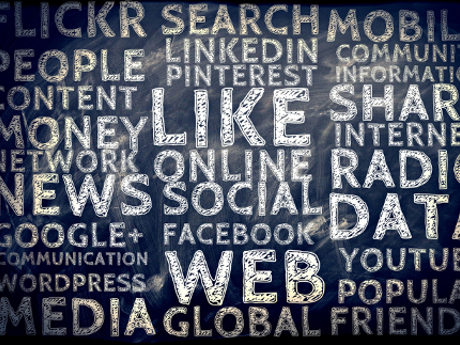 Wordcloud Social Media