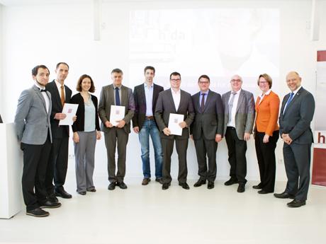 Award für Paper über DBT-Benchmarking